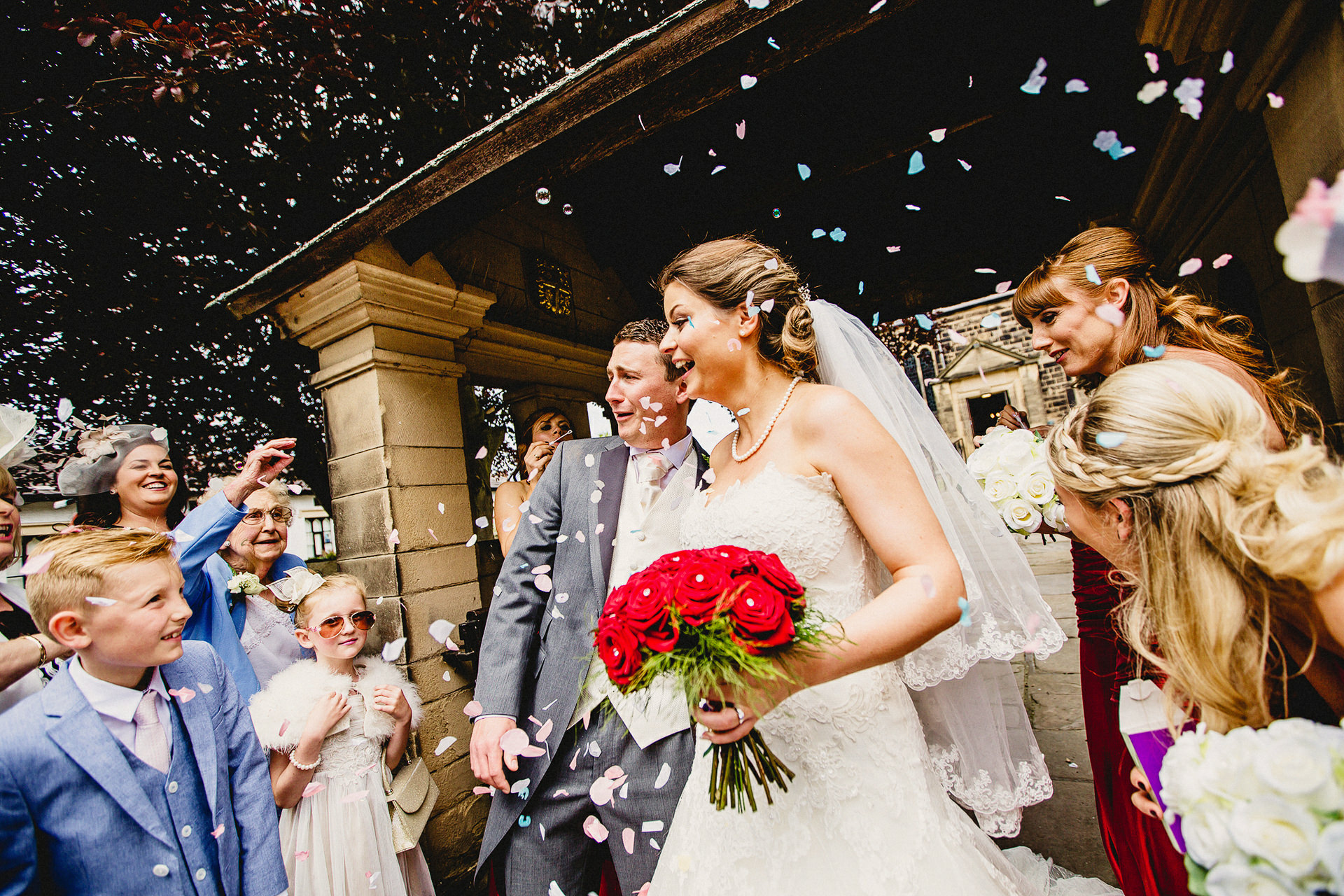 A Summer Wedding in Southport and Formby Hall
