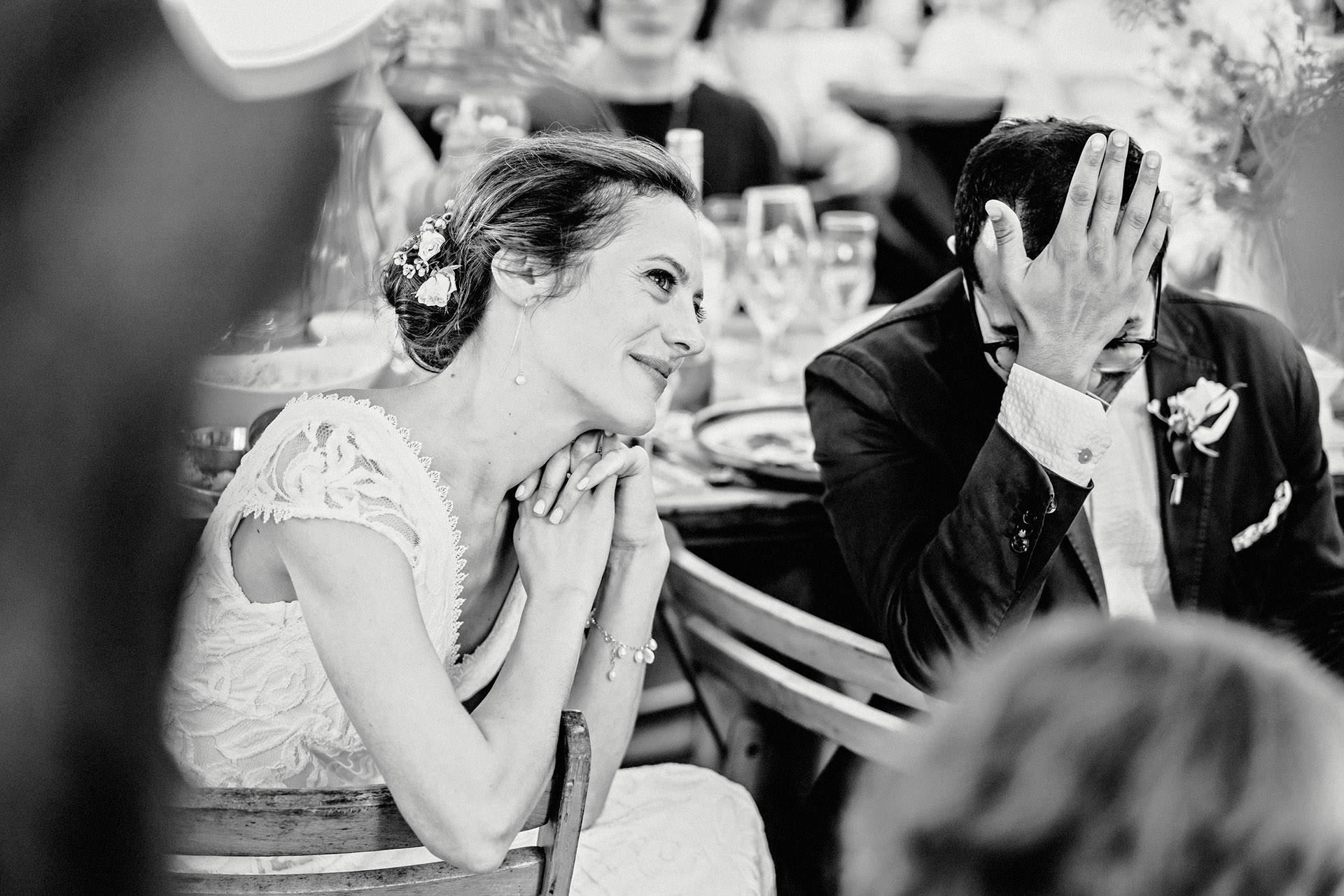 reactions, photojournalism, wedding speeches