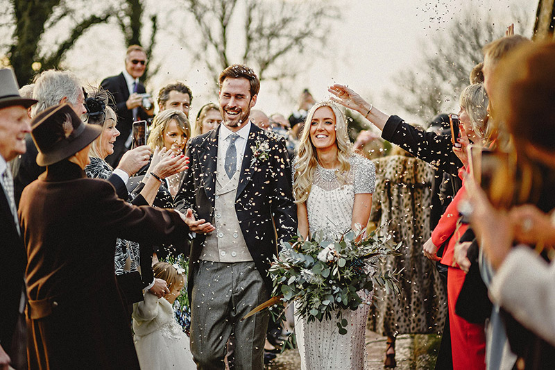 A Winter Wedding in Ribchester and Skipton